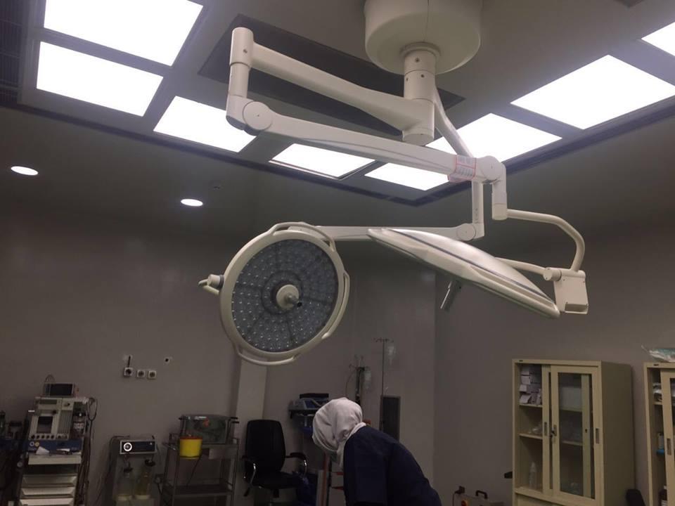 شركة المبدع العلمي في مستشفى الهلال الاحمر
