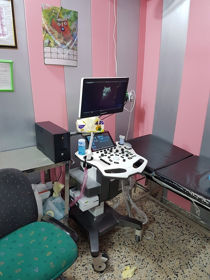 AL-MUBDAA Scientific Company in Dr. Yassar alfatlawi Ultrasound VINNO E-10