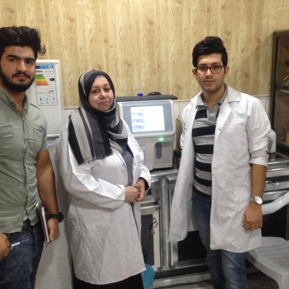 AL-MUBDAA Scientific Company in AL-RAFEDAIN LAB