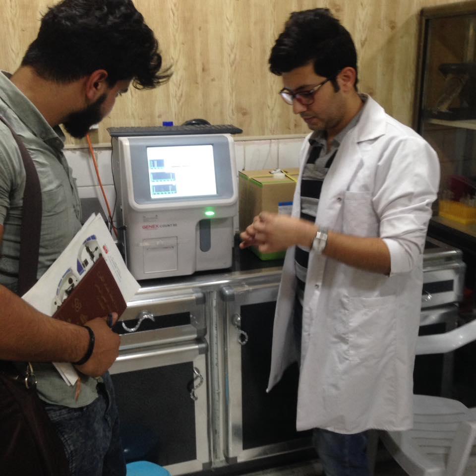 شركة المبدع العلمي في مختبر الرافدين هيماتولوجي جنكس