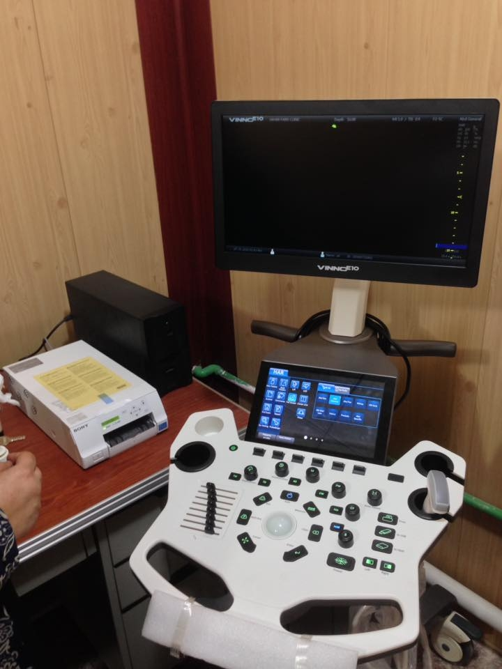 AL-MUBDAA Scientific Company in Dr. SAHAR FARIS / Ultrasound VINNO E-10