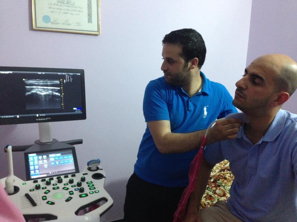AL-MUBDAA Scientific Company in Dr. ETHAR MOHAMMED MAHDY / Ultrasound VINNO E-10