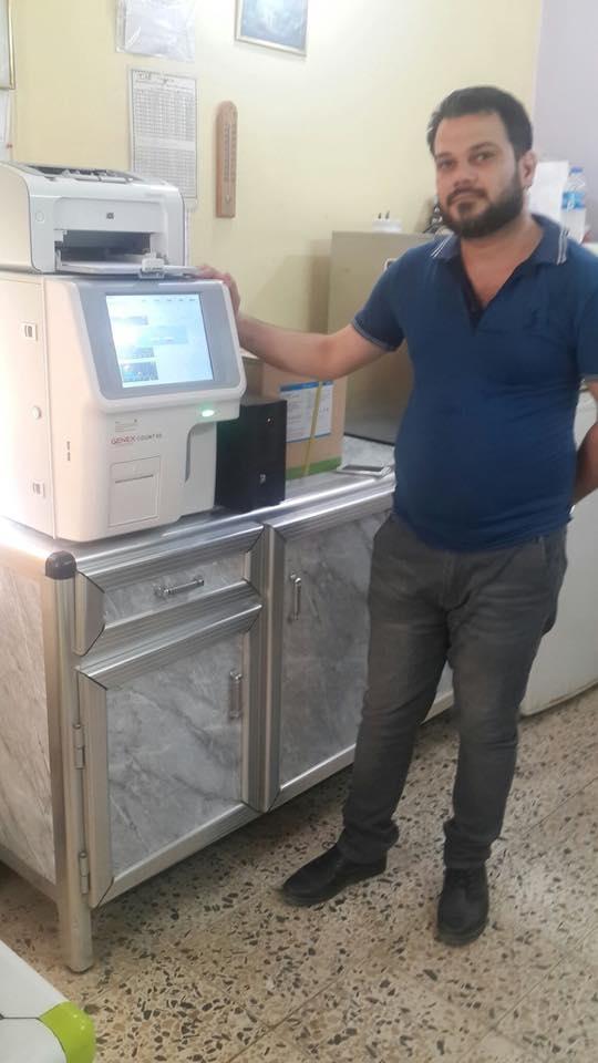 AL-MUBDAA Scientific Company in AL-GHASSAQ LAB