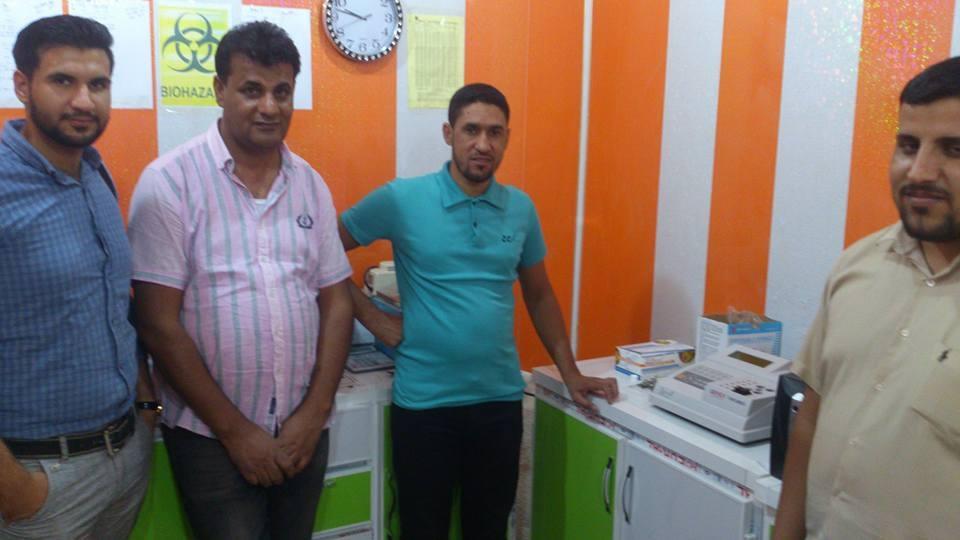 AL-MUBDAA Scientific company in al-Rifai lab