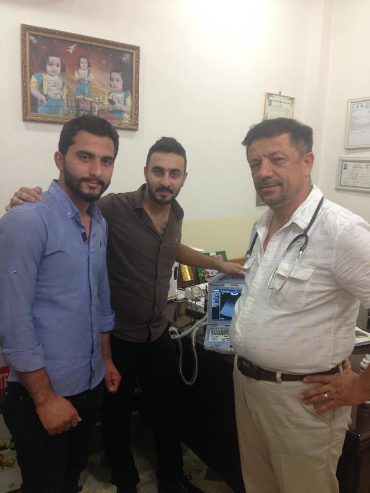 شركة المبدع العلمي في بغداد د. جعفر نصير الشناتي جهاز سونار US-12
