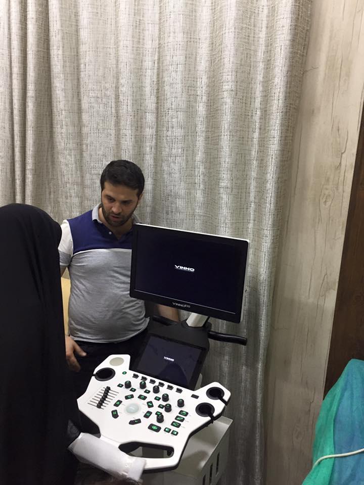 AL-MUBDAA Scientific company in Dr. Nada Al-ibrahimi VINNO E-10