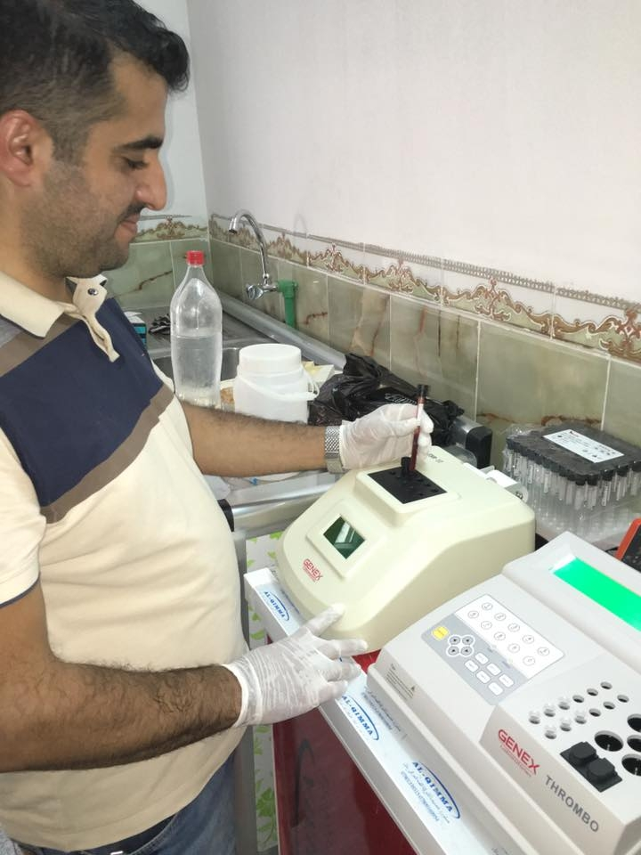 Integrated laboratory processing in Ibn al-Haytham compound lab