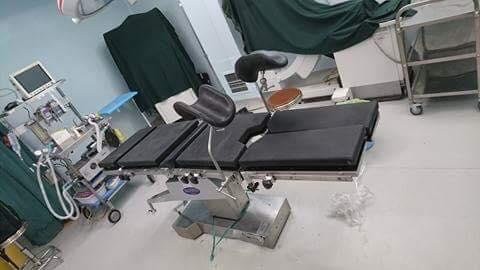 سدية عمليات ميكانيكية في مستشفى الحارثية الاهلي 1
