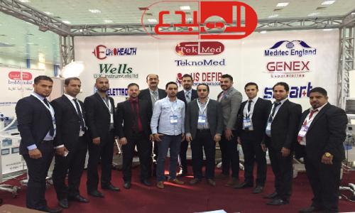 شركة المبدع العلمي في معرض بغداد الدولي