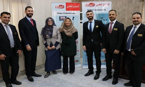 ALMubdaa Scientific Company in the community awareness for cervical cancer workshop