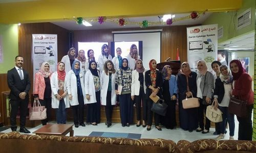 Under the patronage of Baghdad Al-Russafa health directorate, Almubdaa scientific company in the Alwiya Hospital for obstetrics and gynecology.