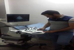 AL-MUBDAA Scientific Company in Dr. hassan ahmed fadam ( cardylogy) ultrasound VINNO E-20
