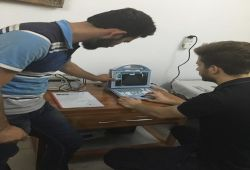 AL-MUBDAA Scientific Company in Dr. EBTESAM ABBAS Ultrasound US-12