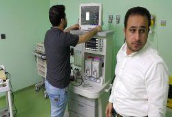 شركة المبدع العلمي في مستشفى الجامعة اللبناني / عربات تخدير