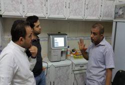 شركة المبدع العلمي في مستشفى القرنة العام هيماتولوجي