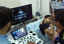 AL-MUBDAA Scientific Company in Dr. aqeel manthor Ultrasound VINNO E-20