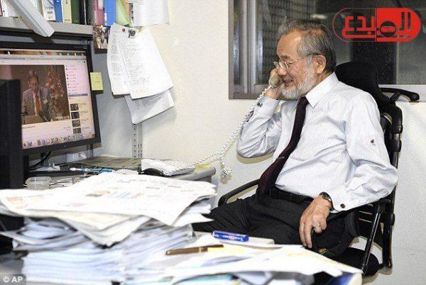 """جائزة نوبل الممنوحة لـ""""أوسومى"""" بالطب رقم 107"""