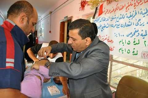 صحة ذي قار تعلن النتائج النهائية للحملة ضد مرض شلل الأطفال
