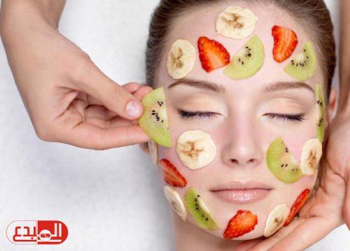 قناع الفاكهة لبشرة أجمل وشعر لامع !
