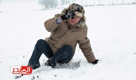 دراسة: العلاقة بين الأزمات القلبية وسقوط الثلج
