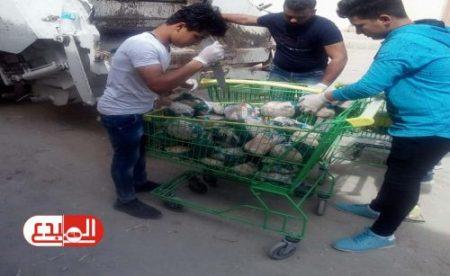 إتلاف أكثر من 10 أطنان من المواد الغذائية الفاسدة في كربلاء