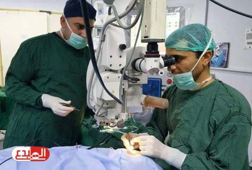 نجاح عملية معقدة تعيد البصر لمريضة عشرينية في مستشفى ابن الهيثم للعيون ببغداد