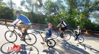 دراسة بريطانية: ركوب الدراجات الهوائية يحميك من الأمراض المعدية