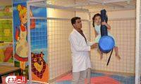 افتتاح عيادة الشلل الدماغي في مستشفى الامام الصادق في بابل