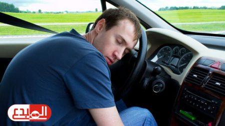 أسباب النوم أثناء قيادة المركبات