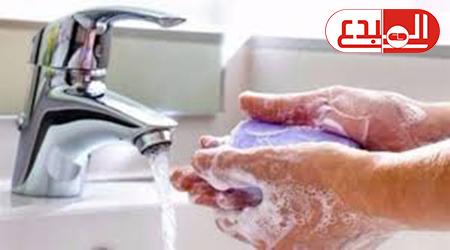 """كشف مدى أهمية غسل الأيدي في الوقاية من """"كورونا"""" ."""